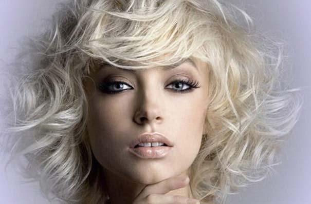 накрученные волосы