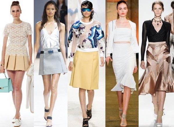 Модные юбки: с чем носить юбку?